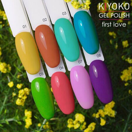 Гель-лак KIYOKO First Love 02, 8 мл,
